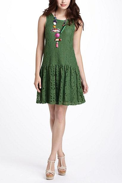 Rauma Drop-Waist Dress #anthropologie