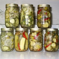 Homemade Refrigerator Pickles | Canning / pickles | Pinterest