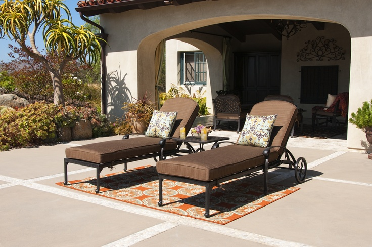 Lounging in SoCal!  Jeromes Furniture  Patios and Outdoor Living ...