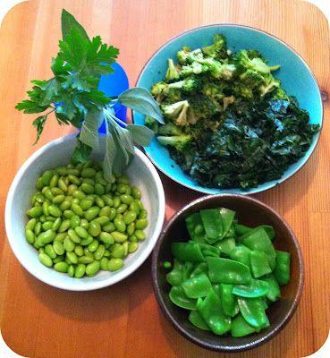 ... Mother Hubbard: Summer Salad Series V. 5 Green Veggie Pasta Salad