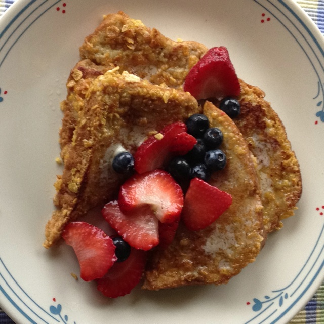 Crunchy French toast | French Toast | Pinterest
