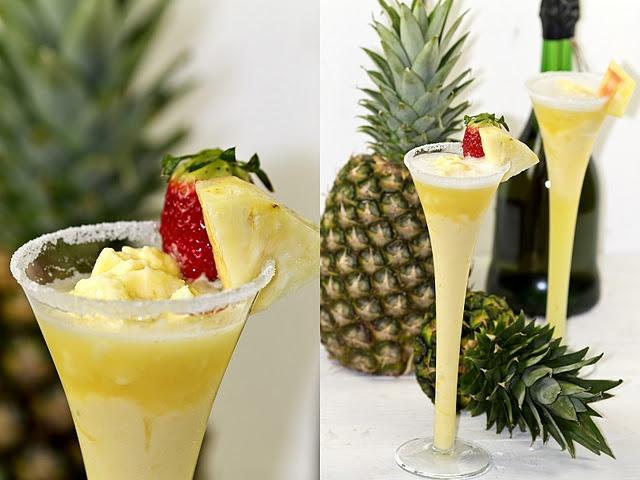 Pineapple sorbet | Sweet | Pinterest