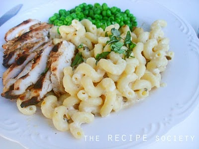 Grilled Chicken with Lemon Basil Pasta | Main Dishes | Pinterest