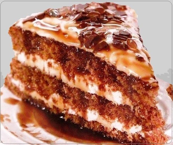 Рецепты очень вкусных пирожных