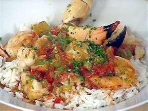 Lobster, shrimp creole