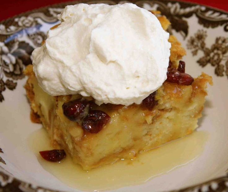 Croissant Bread Pudding | Only Bread Pudding | Pinterest