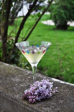 Lilac Simple Syrup: 1 cup water 1 cup sugar 1 cup fresh lilac blossoms ...