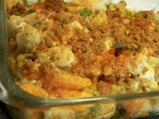 Vegetable Casserole This is a yummy way to eat veggies. it's a super ...