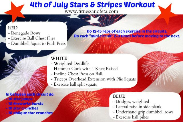 4th of july workout clothes
