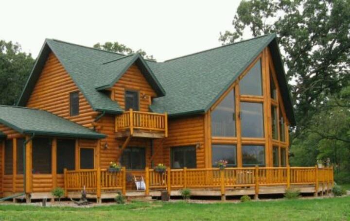 Lake house lake house pinterest for Windows for log cabins