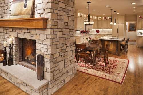 2 Sided Fireplace Design Home Sweet Home Pinterest