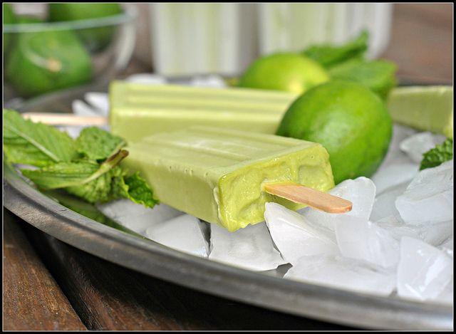 Avocado Ice Pops | recipes/food 1 | Pinterest