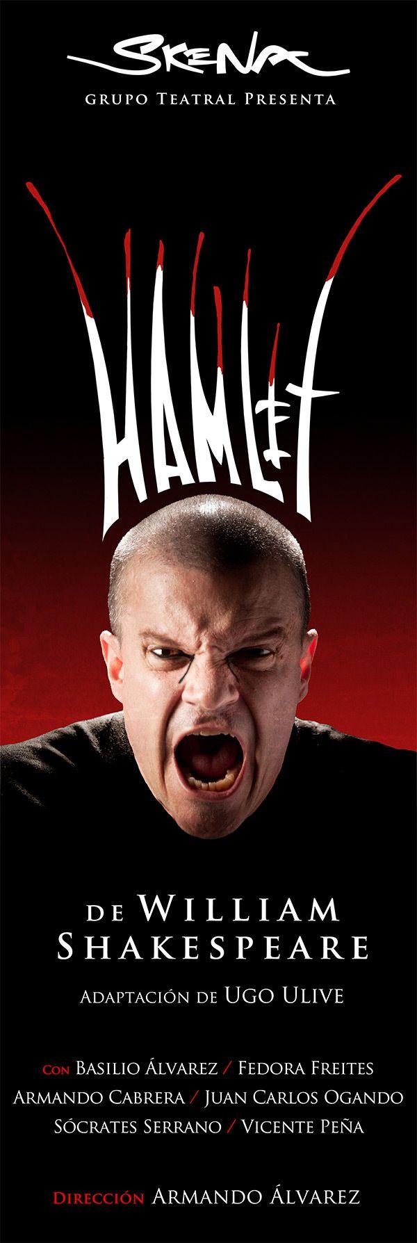 Hamlet poster | Sheakespeare | Pinterest