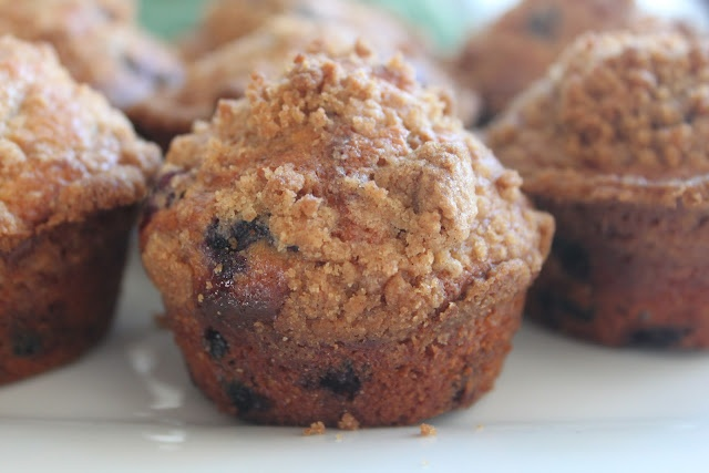 Blueberry Muffins made with Greek Yogurt | Make it & Bake it! | Pinte ...