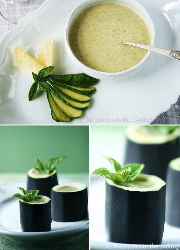 Zucchini Basil Soup | • Soups & Salads • | Pinterest
