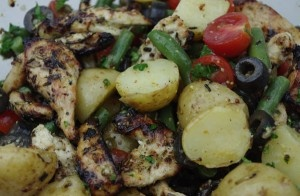 Grilled Chicken Nicoise Salad   Foods   Pinterest