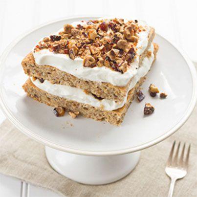 Brown Butter Hazelnut Cake with Praline | Baking | Pinterest
