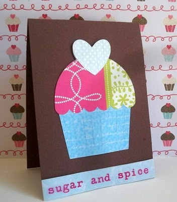 Sugar and Spice ~ cupcake | scrapbooking | Pinterest