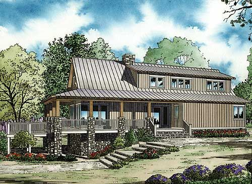 Low country cottage house plan for Low country bungalow house plans