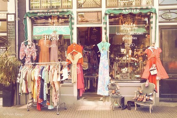 vintage shop, Amsterdam