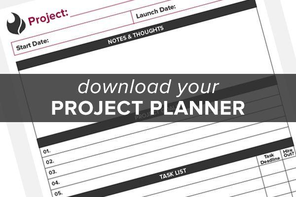 Free printable project planner page | free printables for organizing ...