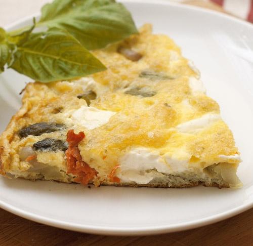 Salmon & Asparagus Frittata | Yummmmmmm | Pinterest