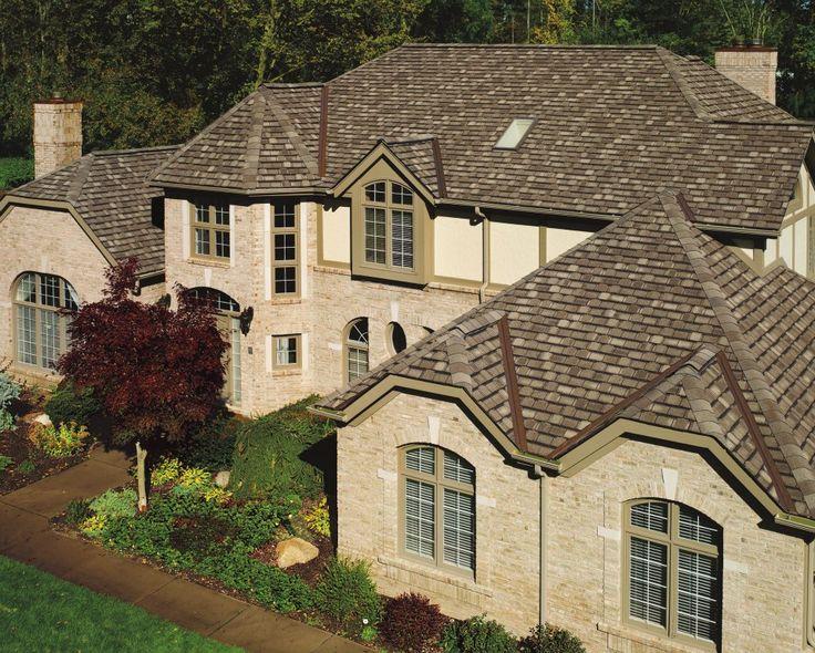 Gaf Camelot Shingles Aged Oak Color Gaf Asphalt Roofing