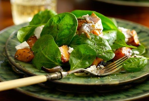 Roasted Sweet Potato and Feta Salad | Recipe