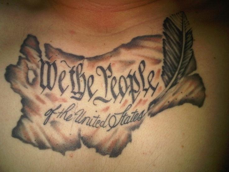 we the people | patriotic tattoo ideas | Pinterest