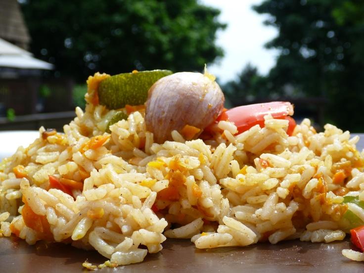 Vegetable Rice Pilaf | MyFoodTV.com | Pinterest