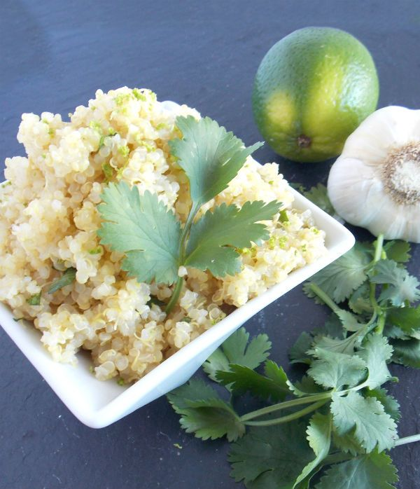 Cilantro Lime Quinoa Soo Good! | Food | Pinterest