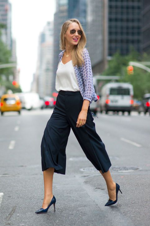Culottes & 2017 street style trends