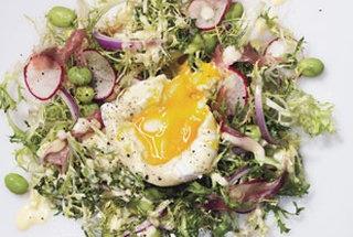 "Eggs In A Nest"" Eggs Benedict Salad recipe via Bon Appetit. God I ..."