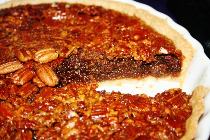 Best Pecan Pie Ever (made with pure cane syrup) & praline whip cream ...