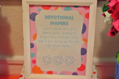 ready to pop baby shower devotional diapers