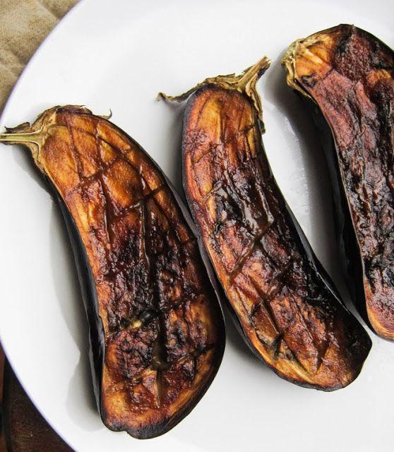 baked miso eggplant / nasu dengaku | vegetarian | Pinterest