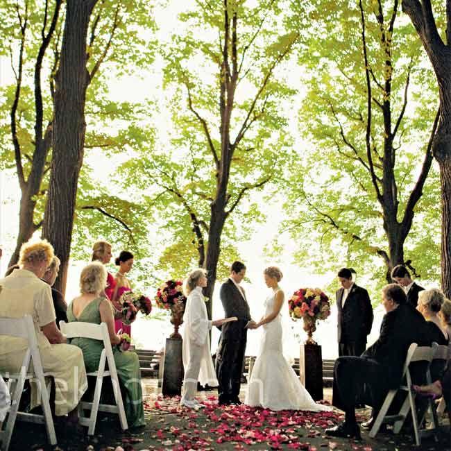 Backyard Forest Wedding : Forest Wedding Ceremony  Love
