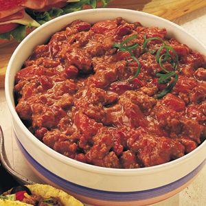 EASY TAILGATING CHILI