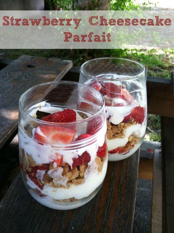 Strawberry_Cheesecake_Parfait_WM | Sweets | Pinterest