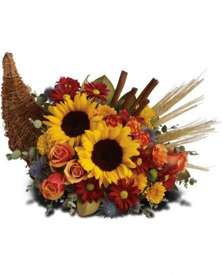 1800 flowers fall fields of europe centerpiece