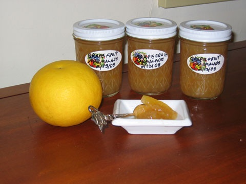 Grapefruit Marmalade recipe. | Canning & Preserving | Pinterest