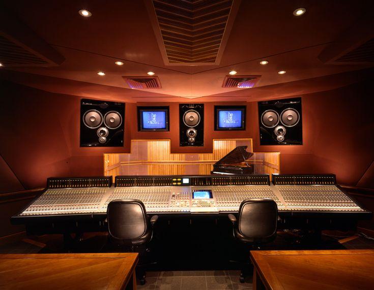 Recording studio mixer wallpaper
