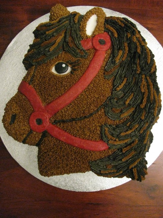 Horse Cake Pan