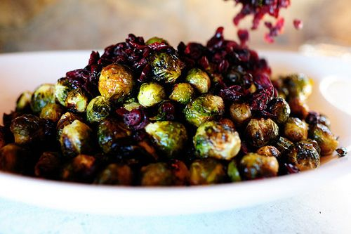 brussels sprouts with balsamic and cranberries the pioneer woman cooks ...