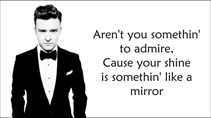 Justin timberlake mirrors song lyric quotes pinterest for Mirror justin timberlake lyrics