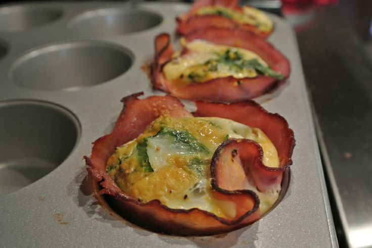 ham/cheese/egg cups | Breakfast - cereal/eggs, etc | Pinterest