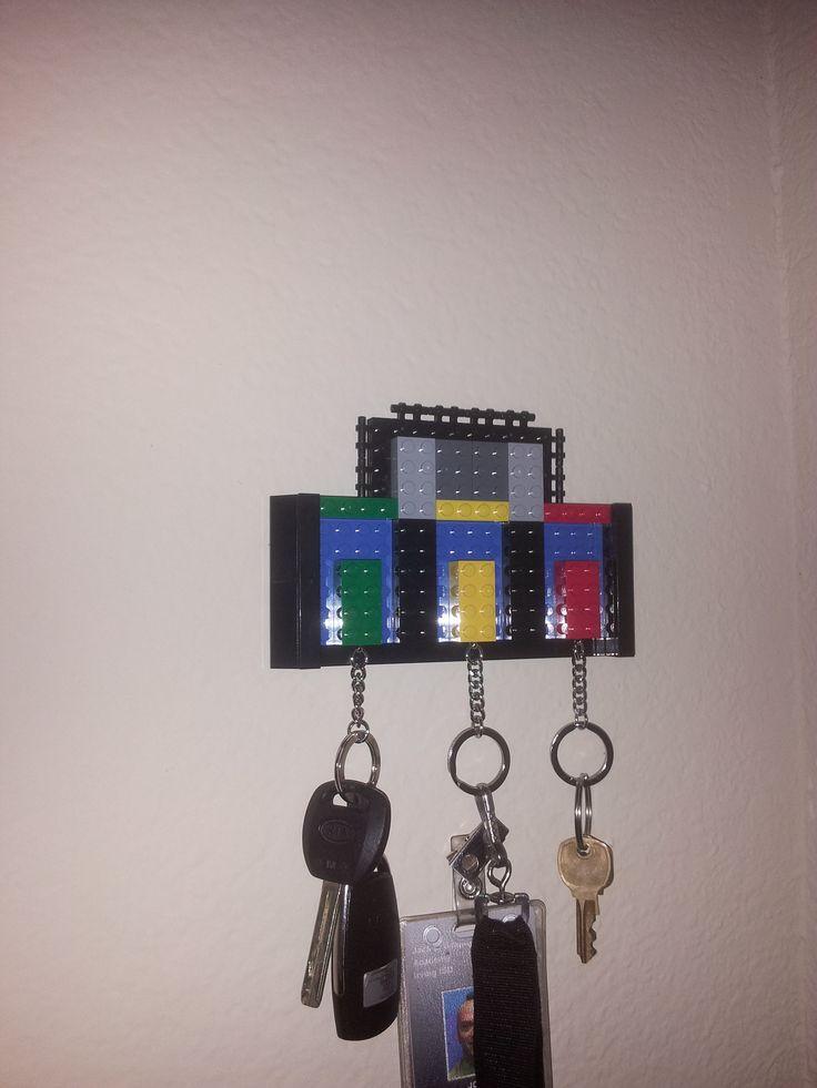 Lego Key Holder Pinterest Crafts