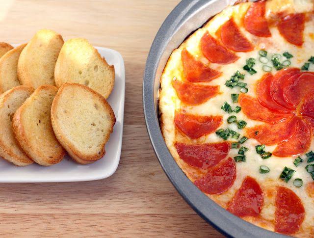Pepperoni Pizza Dip | New Recipes | Pinterest