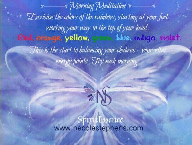 Morning meditation motivation