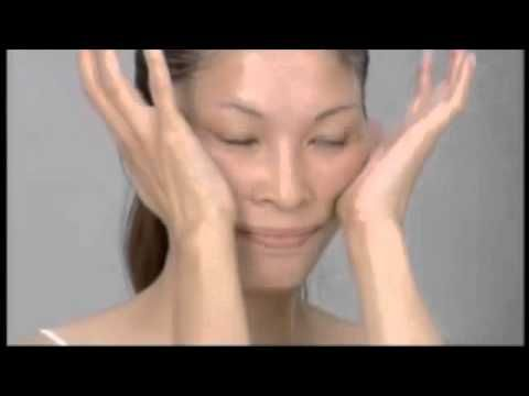 beauty hair self facial massage